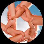 Thumbnail Kreis aus Händen